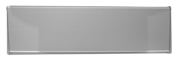 Stockists of Satin Anodised Interior Door Plate 10x3in (254x75mm)