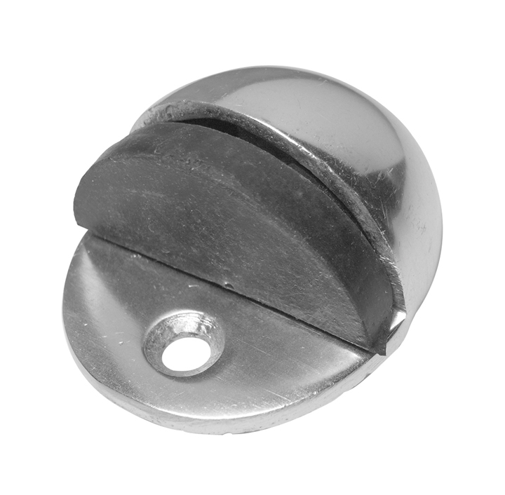 Stockists of Satin Anodised Oval Shaped Door Stop