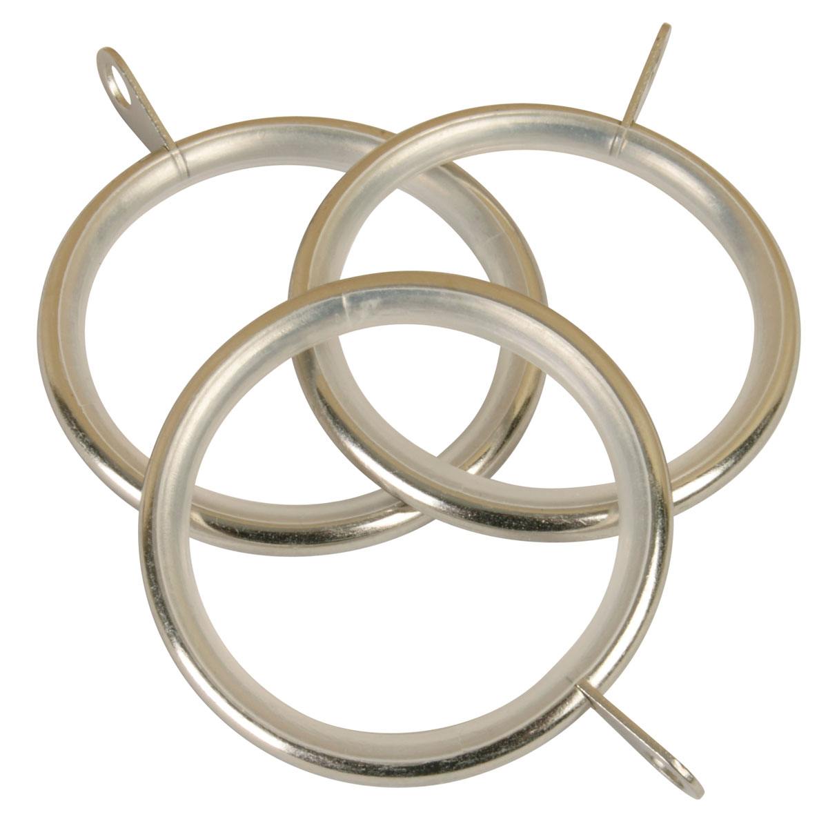 Stockists of Satin Silver Ball 28mm Curtain Rings