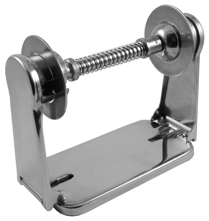 Stockists of Satin Stainless Theft Resistant Toilet Paper Holder