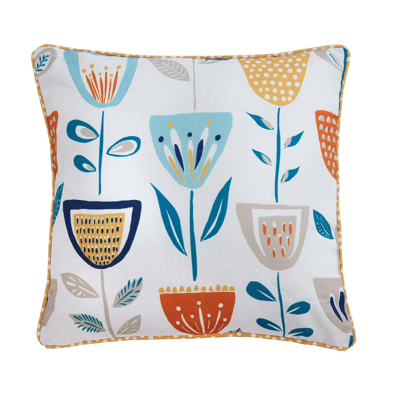 Bargain Scandi Colour-Pop Digitally Printed & Reversible Luxury Square Filled Cushion Stockists