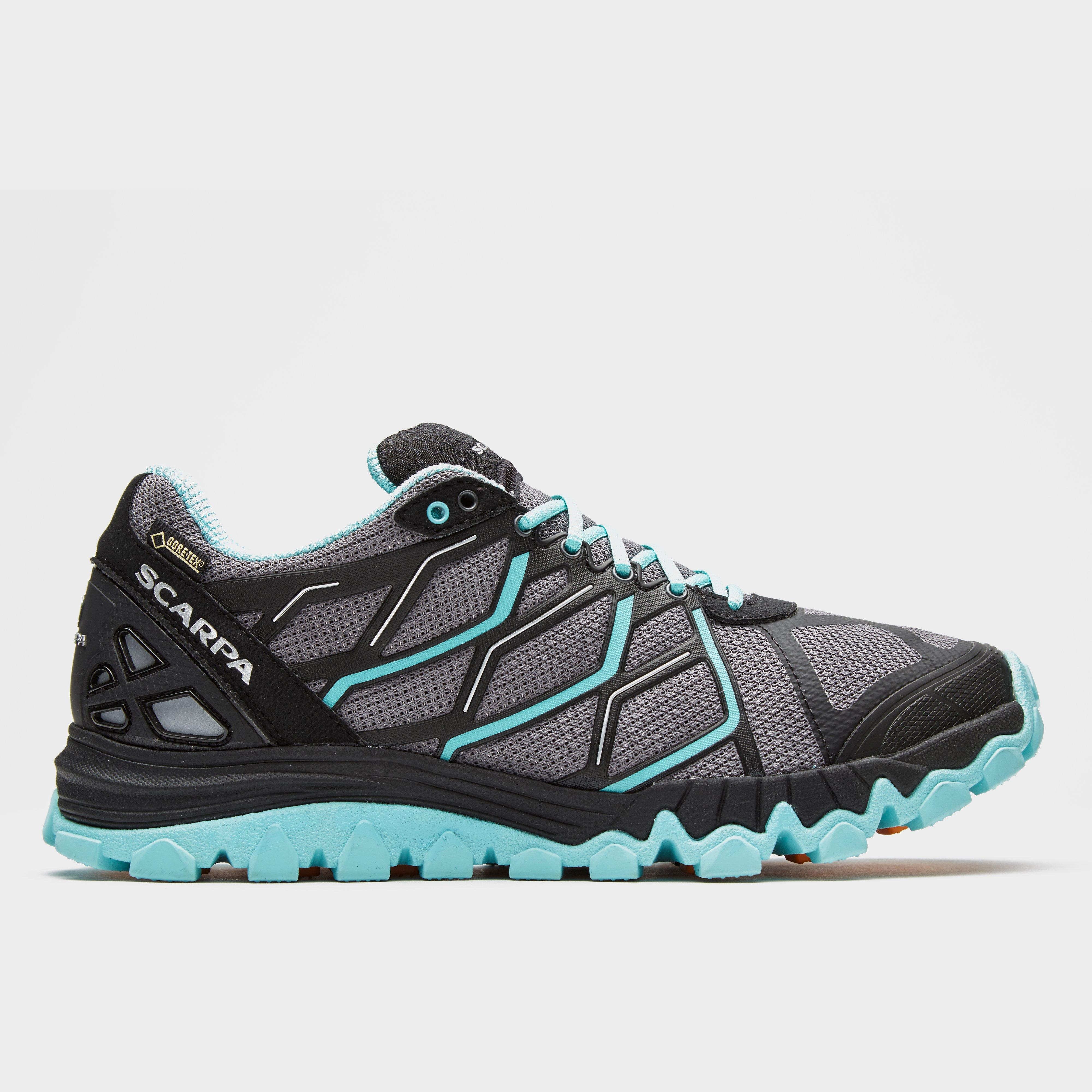 Bargain Scarpa Women's Proton GORE-TEX Running Shoes, Grey Stockists