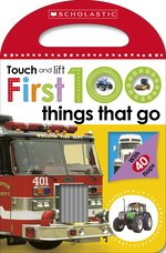Bargain Scholastic Early Learners: First 100 Touch and Lift: Things that Go Stockists