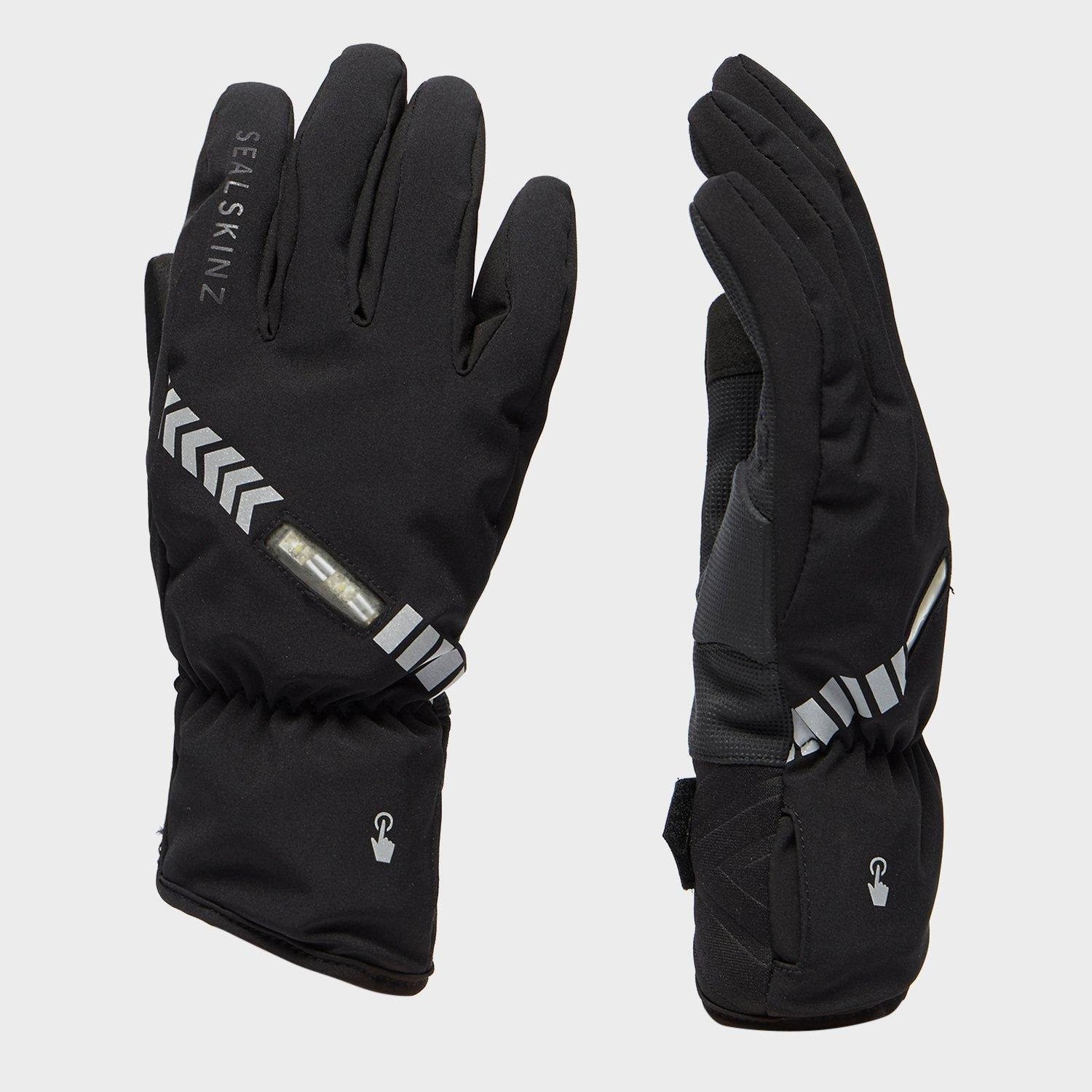 Bargain Sealskinz Halo All Weather Cycling Gloves, Black Stockists