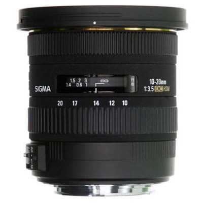 Bargain Sigma 10-20mm F3.5 EX DC HSM Lens - Canon Fit Stockists