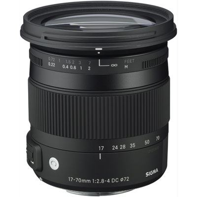 Bargain Sigma 17-70mm f2.8-4 DC Macro OS HSM Lens - Canon Fit Stockists