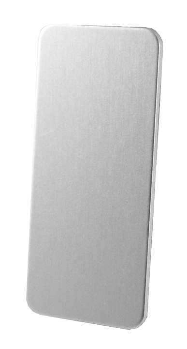 Bargain Silver Anodised Narrow Repair Plate for Doors Stockists