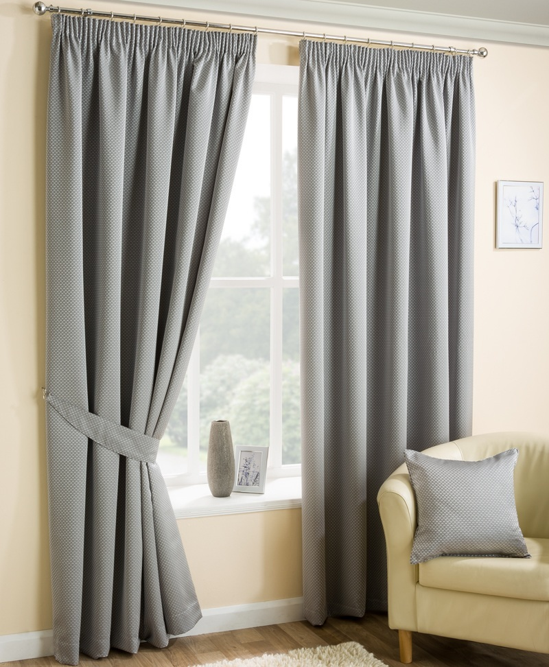 Stockists of Silver Ariel Ready Made Lined Curtains
