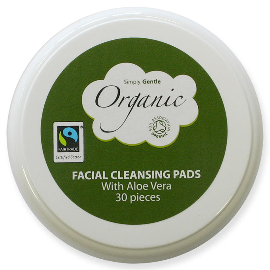 Bargain Simply Gentle Organic Cotton Facial Pads   Pack of 30 Stockists