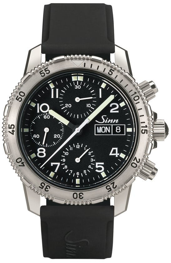 Bargain Sinn Diver Chronograph 203 St Rubber D Stockists