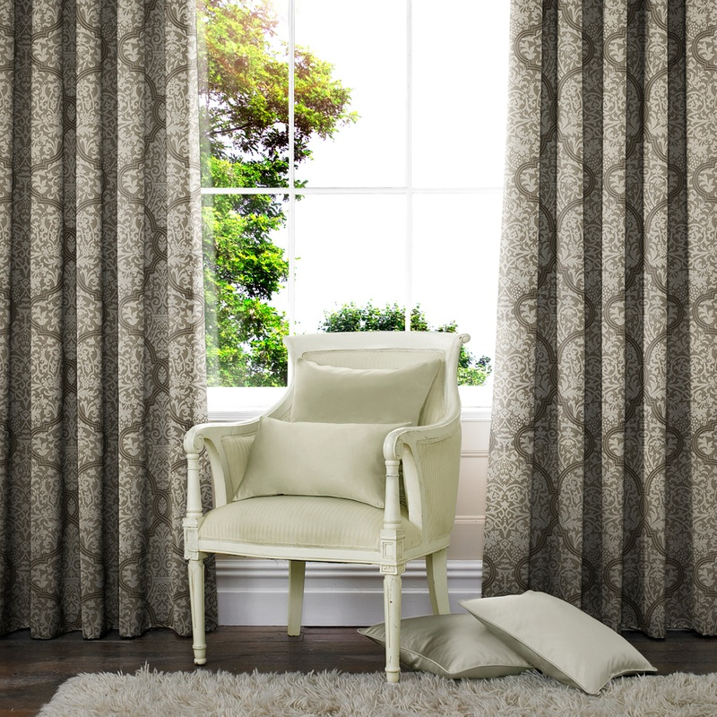 Stockists of Slate Mantra Made to Measure Curtains