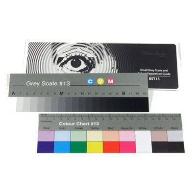 Bargain Small Grey Scale and Colour Separation Chart Stockists