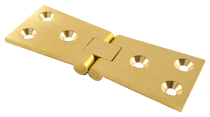 Stockists of Solid Brass Bar Flap Hinges 32x101mm