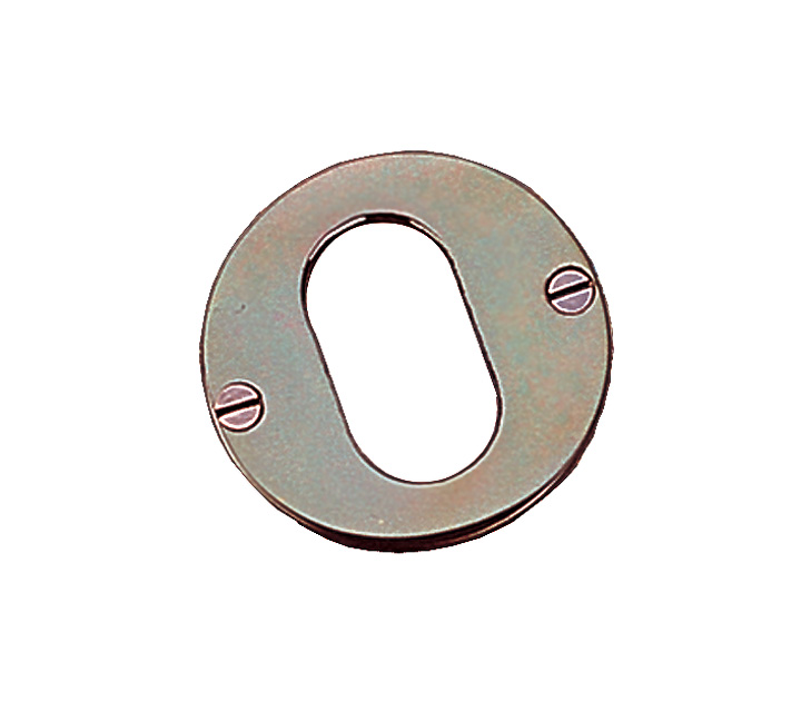 Stockists of Solid Bronze Oval Keyhole Cover 51mm