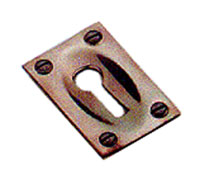 Stockists of Solid Bronze Sunk Keyhole Cover