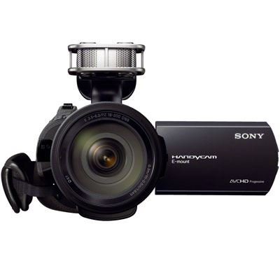 Bargain Sony NEX-VG30 Interchangeable Lens High Definition Camcorder with 18-200mm Lens Stockists