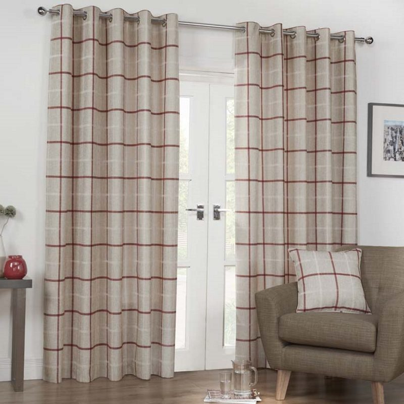 Bargain Spice Kendal Ready Made Lined Eyelet Curtains Stockists