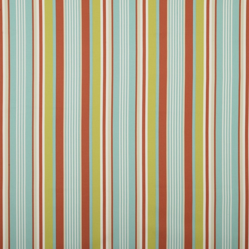 Stockists of Spice Stellar Stripe Curtain Fabric