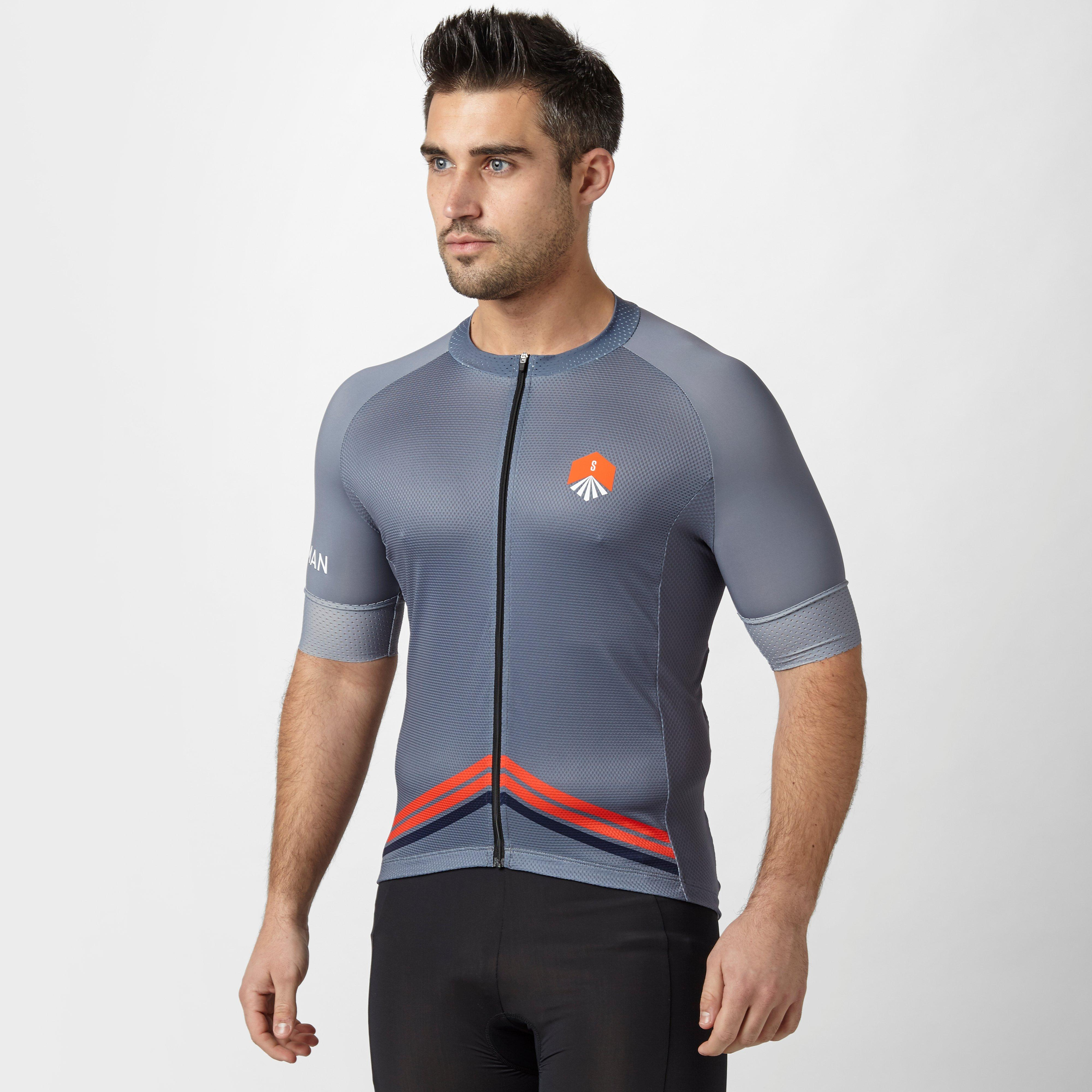 Stockists of Spokesman Men's Tracker Cycling Jersey, Grey