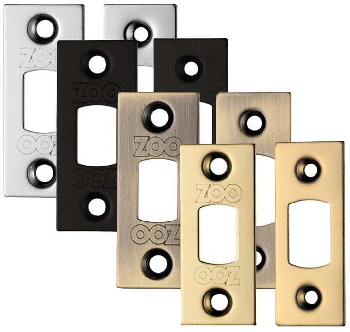 Stockists of Square End Plates for use with Tubular Deadbolts