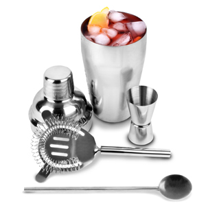 Bargain Stainless Steel Cocktail Shaker Set Stockists