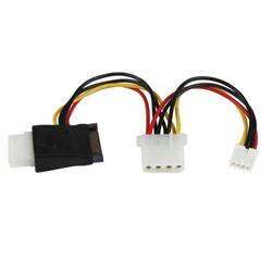 Bargain StarTech.com LP4 to SATA Power Cable Adapter with Floppy Power Stockists