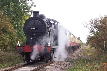 Bargain Steam Train Ride with Cream Tea for Two Stockists