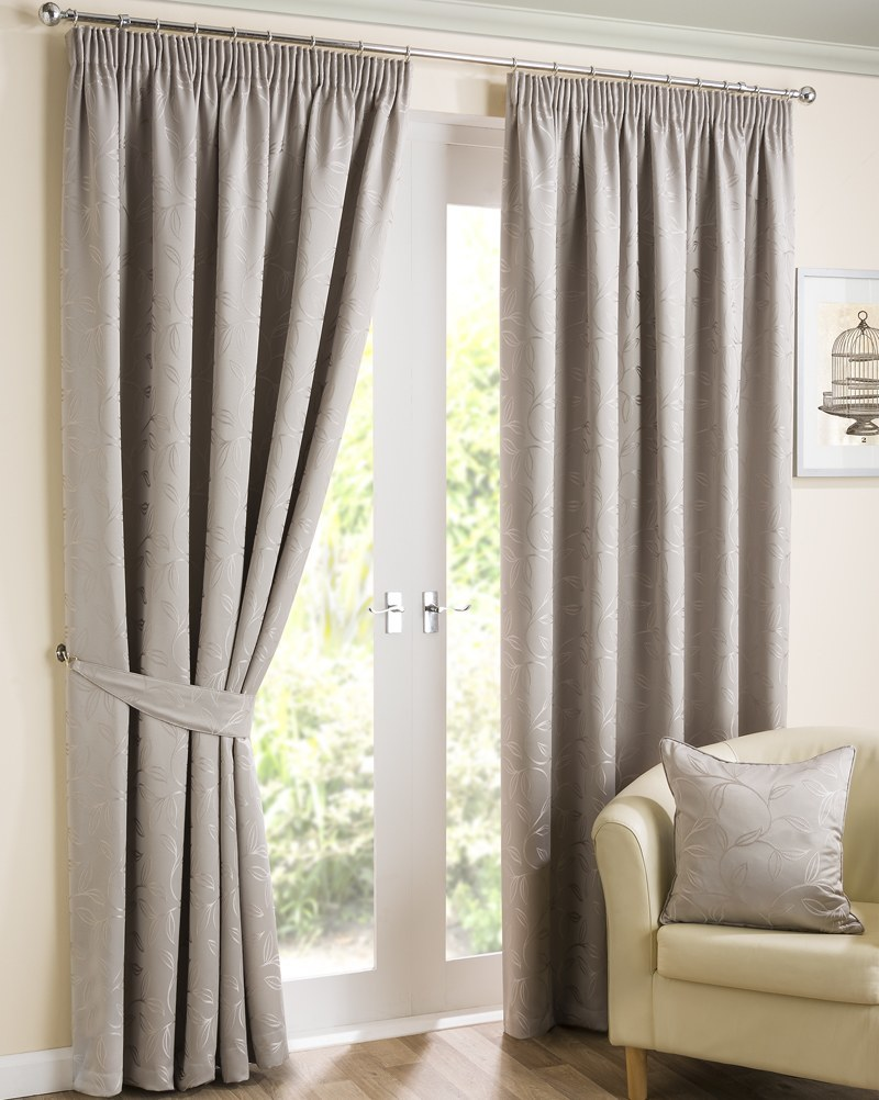 Stockists of Stone Elizabeth Ready Made Lined Curtains