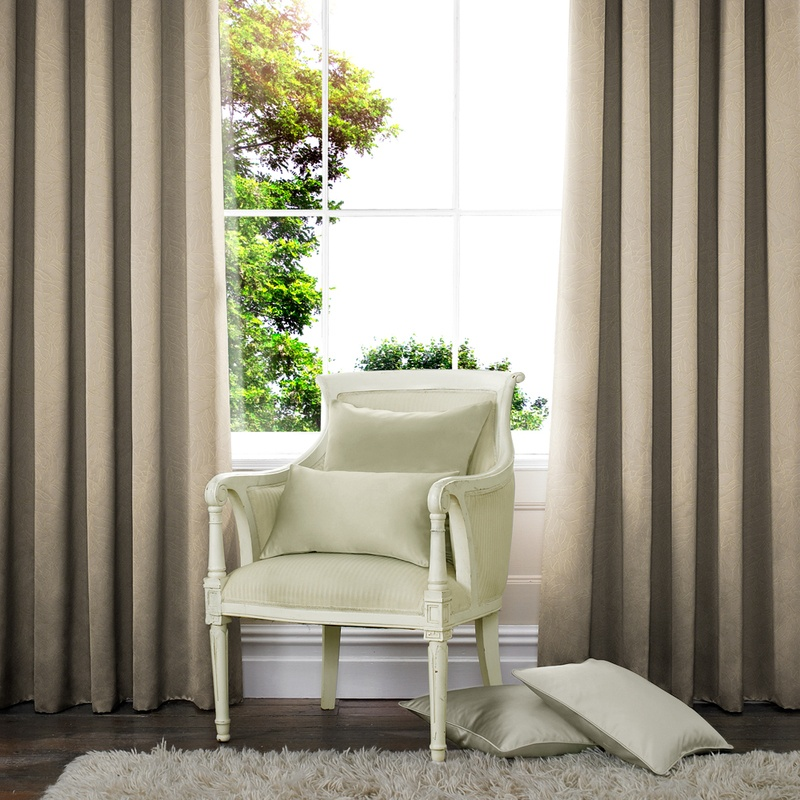 Stockists of Stone Foliage Made to Measure Curtains