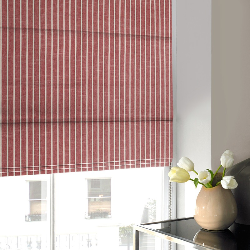 Bargain Strawberry Chase Roman Blind Stockists