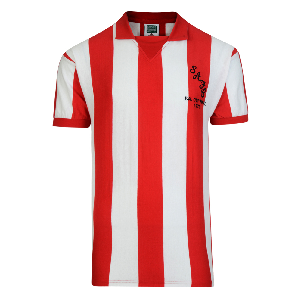 Bargain Sunderland 1973 FA Cup Final Retro Football Shirt Stockists