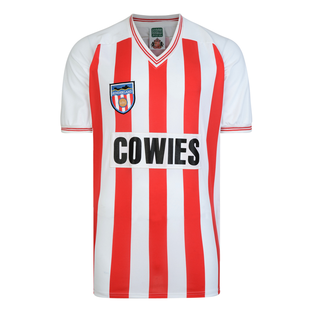 Stockists of Sunderland 1984 Retro Football Shirt