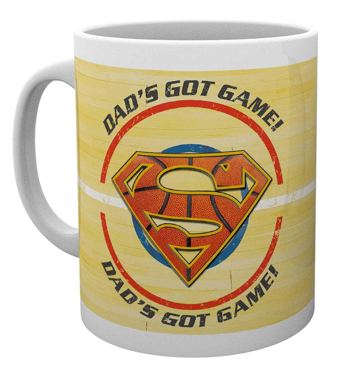 Bargain Superman Fathers Day Mug Dad got Game Mug Stockists