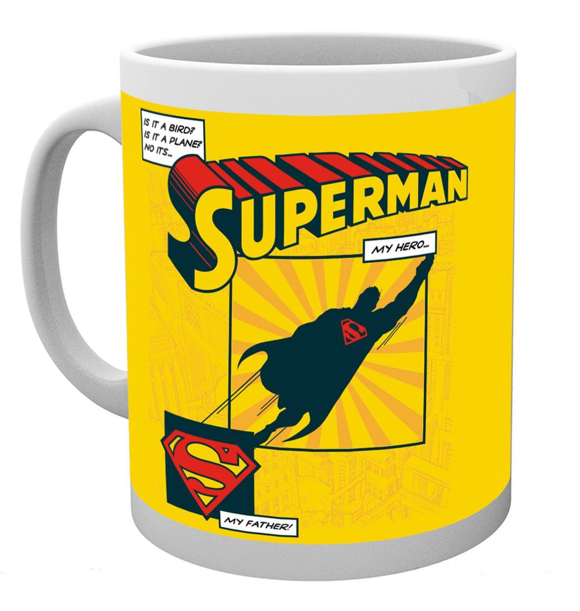Bargain Superman Is It A Bird Dad Mug Stockists