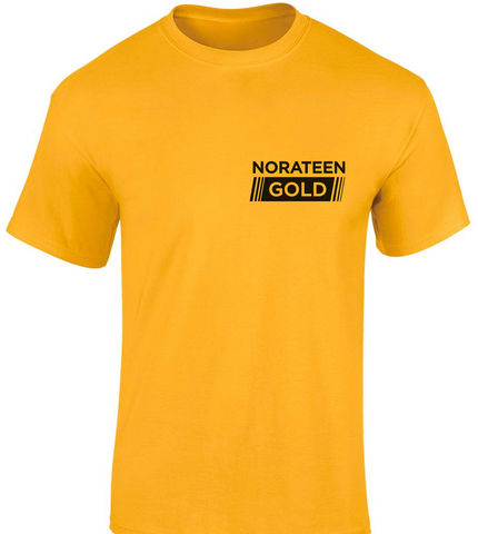 Bargain T Shirt NORATEEN GOLD   Small Stockists