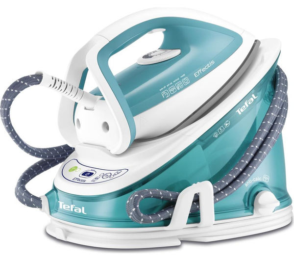 Bargain TEFAL Effectis GV6720 Steam Generator Iron - Blue and White Stockists