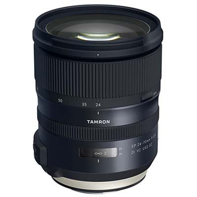 Bargain Tamron 24-70mm f2.8 Di VC USD G2 Lens - Canon Fit Stockists