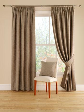 Stockists of Taupe Curtains