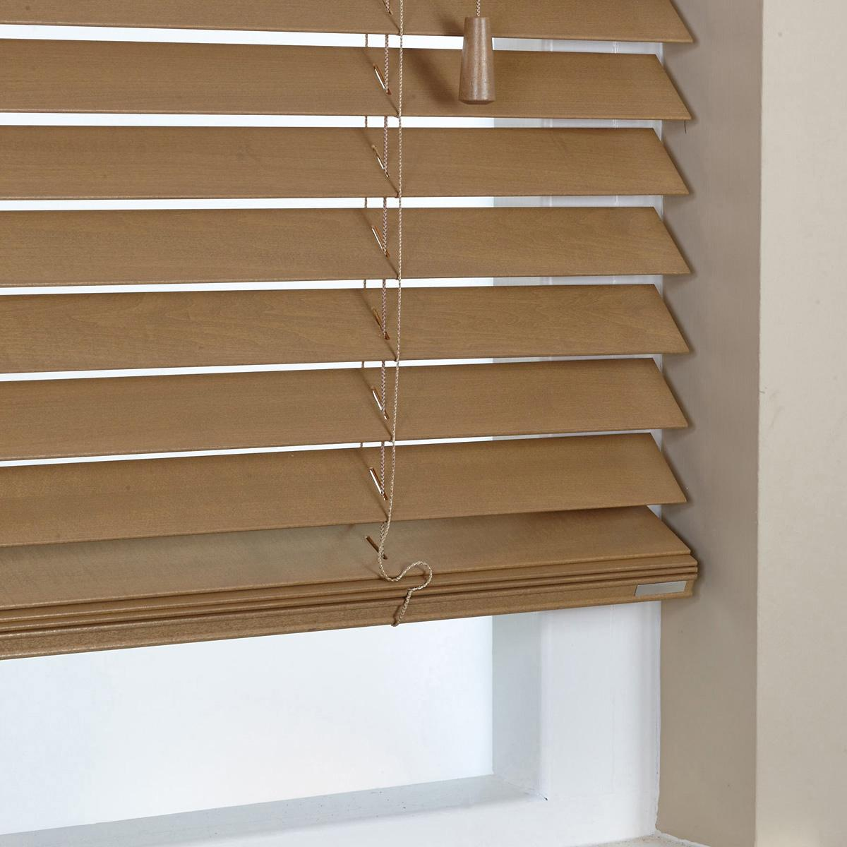 Bargain Tawny 50mm Elementi Wood Venetian Blind Stockists