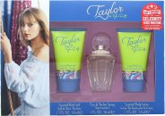 Bargain Taylor Swift Taylor Gift Set 30ml EDP + 50ml Shower Gel + 50ml Body Lotion + Free Celebrity Ringtone Stockists