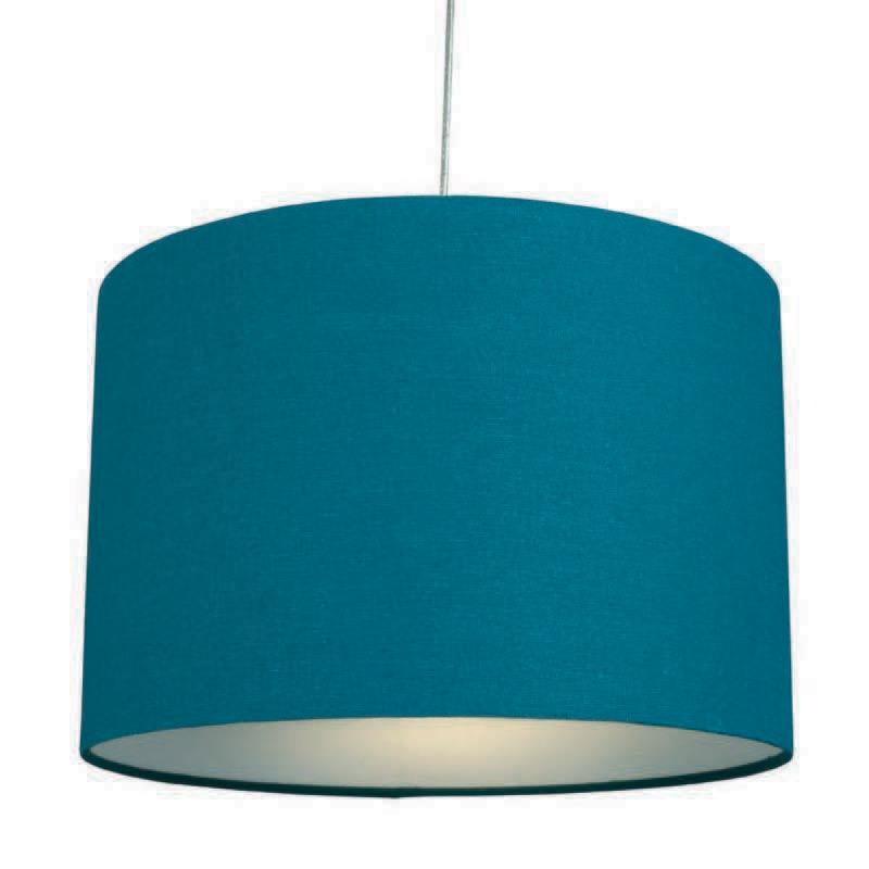 Stockists of Teal 12? Raj Cotton Pendant Shade