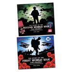 Bargain The Story of the First and Second World Wars Pair Stockists