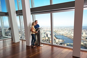 Bargain The View from The Shard and 3 Course Meal with Prosecco at Jamie's Italian Stockists