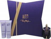 Bargain Thierry Mugler Alien Gift Set 30ml EDP + 50ml Body Lotion + 50ml Shower Gel Stockists