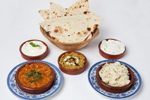 Bargain Three Course Dinner with a Glass of Wine each at Anar Persian Kitchen Stockists