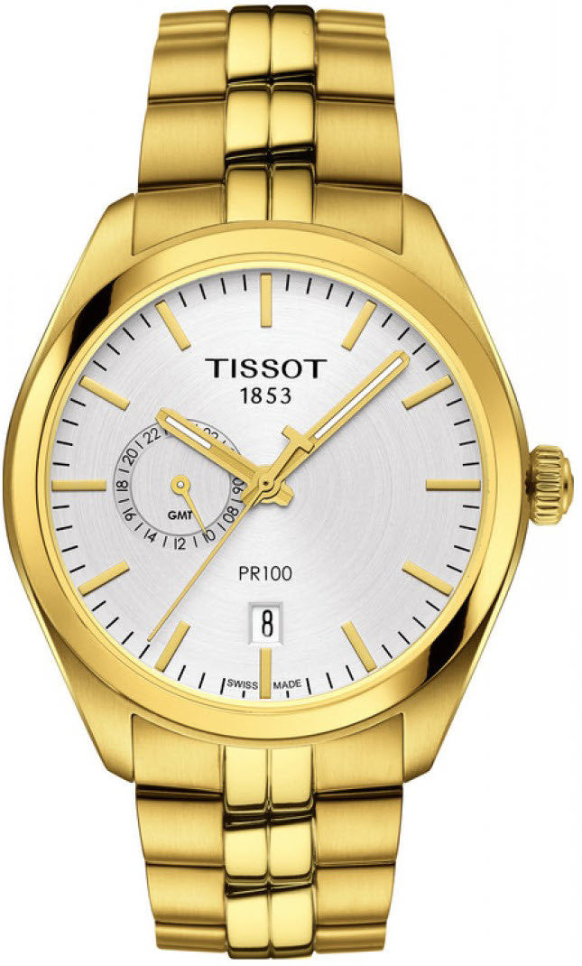 Bargain Tissot Watch PR100 Dual Time Stockists