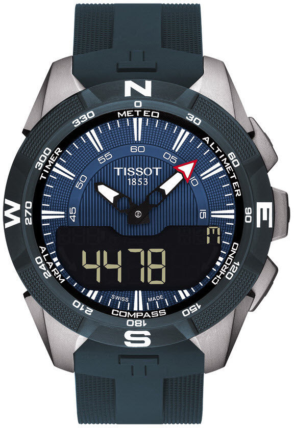 Bargain Tissot Watch T Touch Solar II Blue Stockists