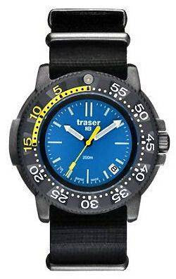 Bargain Traser H3 Watch P 6504 Nautic Nato Stockists