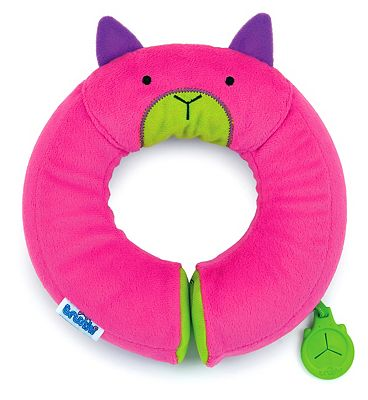 Bargain Trunki Yondi Neck Pillow Pink  Betsy Stockists