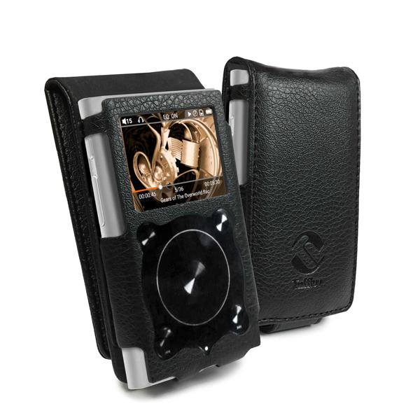 Bargain Tuff Luv Flip Case cover for Fiio X1 ii (2nd Gen)   Black Stockists